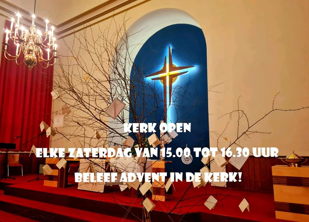 advent kerk open